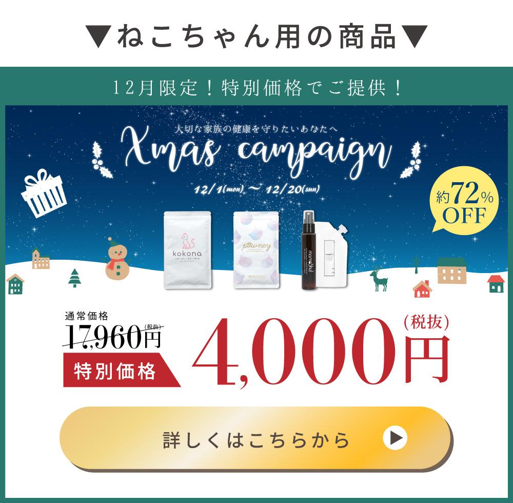 猫用商品キャンペーン
